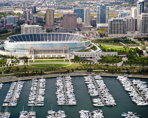 Soldier Field - Lakefront - Blog