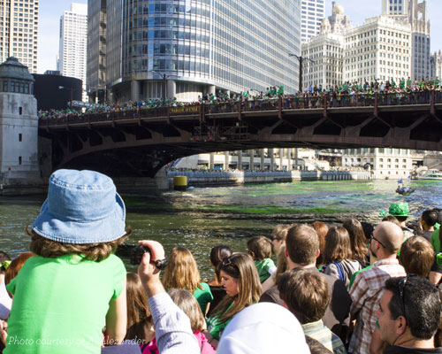 St. Patrick's Day - Green River - Blog