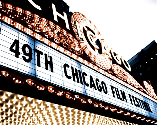 chicago international film fest marquee