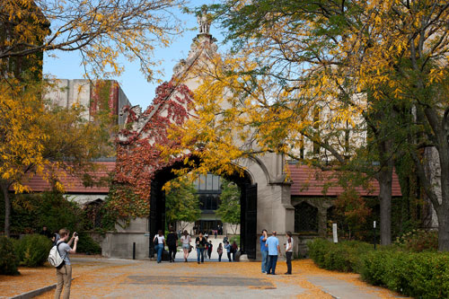 university of chicago fall