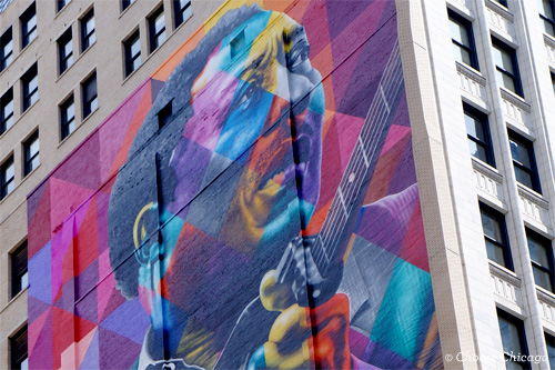 Muddy Waters Tribute by Eduardo Kobra