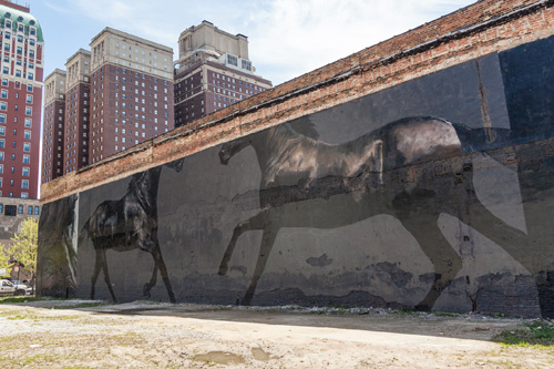 Mural by Ricky Lee Gordon | Wabash Arts Corridor