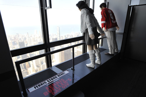 Ferris Buller at The Skydeck Willis Tower
