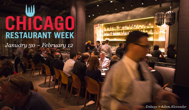 Chicago Restaurant Week: January 30 - February 12, 2015