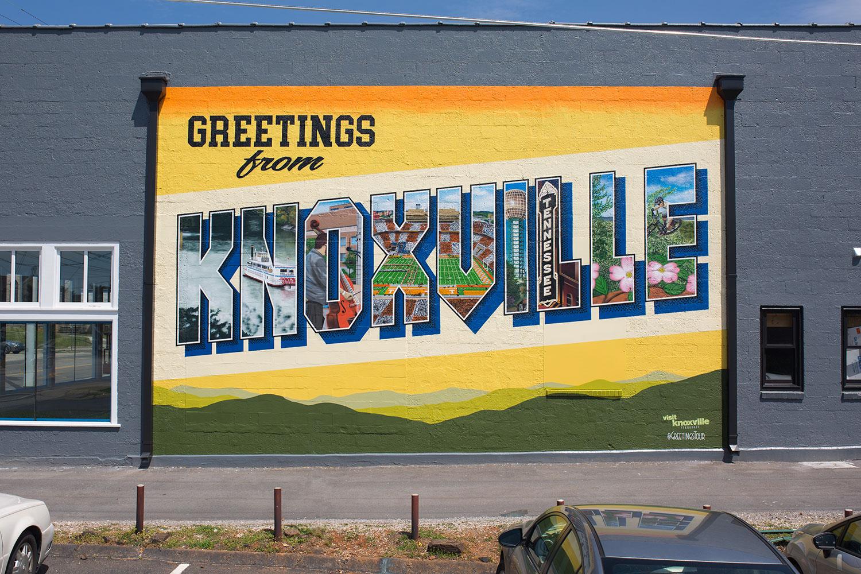 Knoxville Downtown Mural Walking Tour | Walking Tour Map