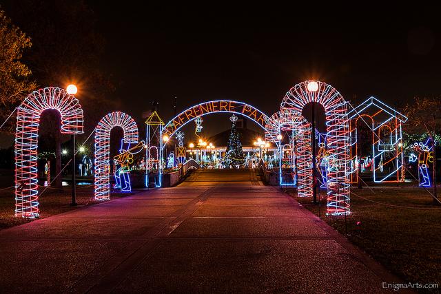 christmas in lafreniere park visit jefferson parish - Lafreniere Park Christmas Lights