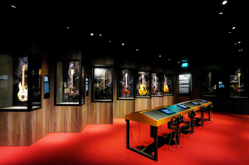 Rolling Stones Guitar Gallery