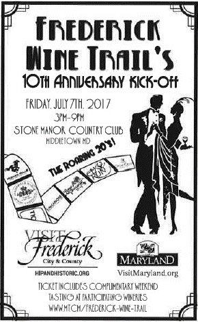 Wine Trail Anniversary Poster