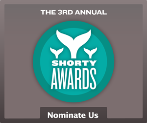 Nominate Columbia, SC for a social media award in the Shorty Awards!