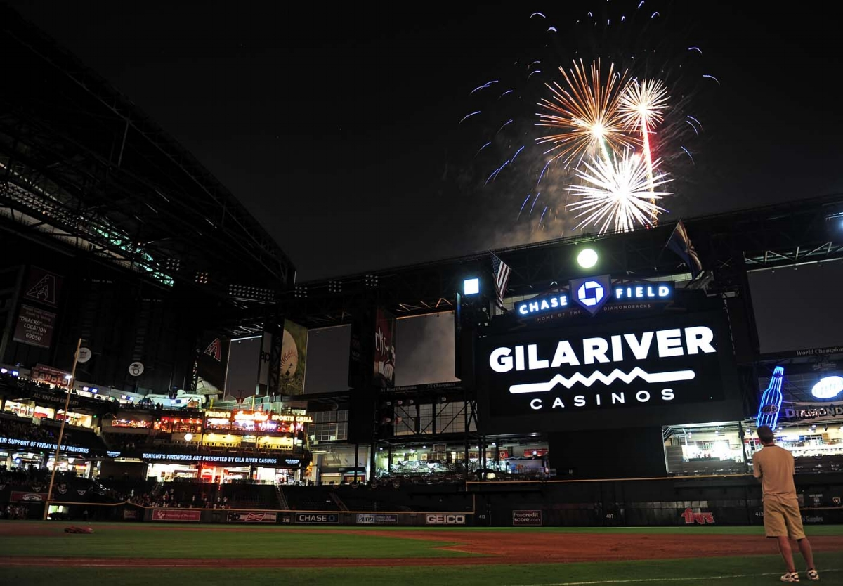 Chase Field Fireworks
