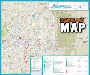 Albuquerque Map - Albuquerque NM Map
