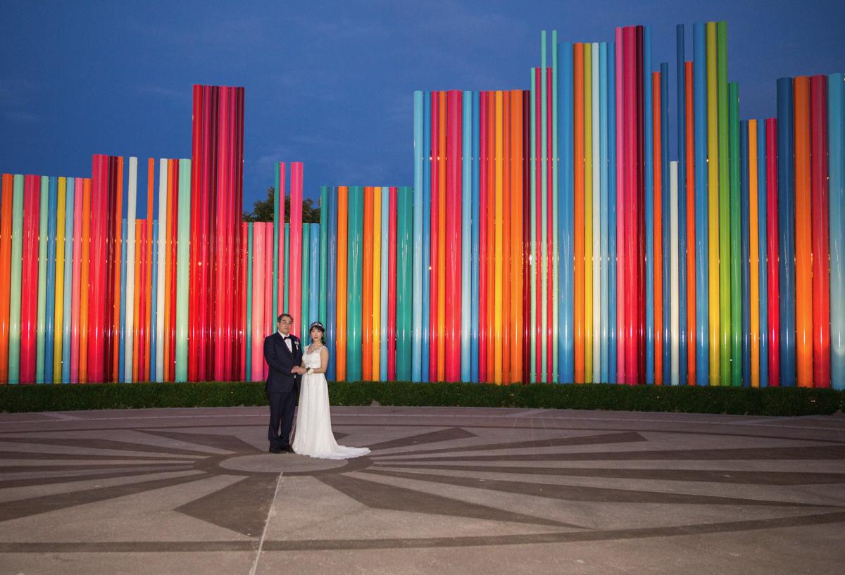 Zehn Atemberaubende Kulissen Fur Las Vegas Hochzeitsshootings