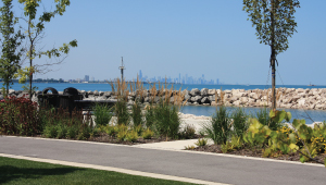 View of Whiting Lakefront Park