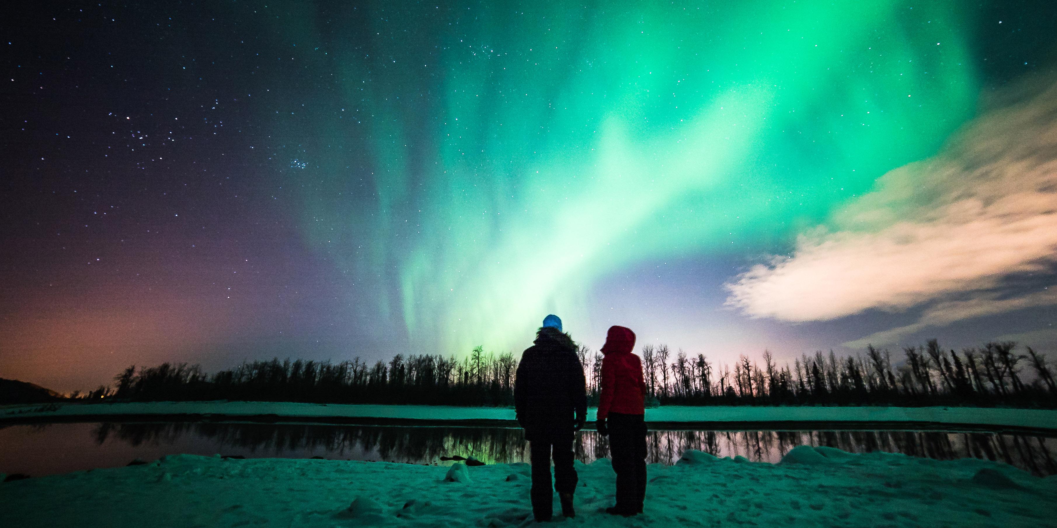 northern lights viewing anchorage alaska visit anchorage