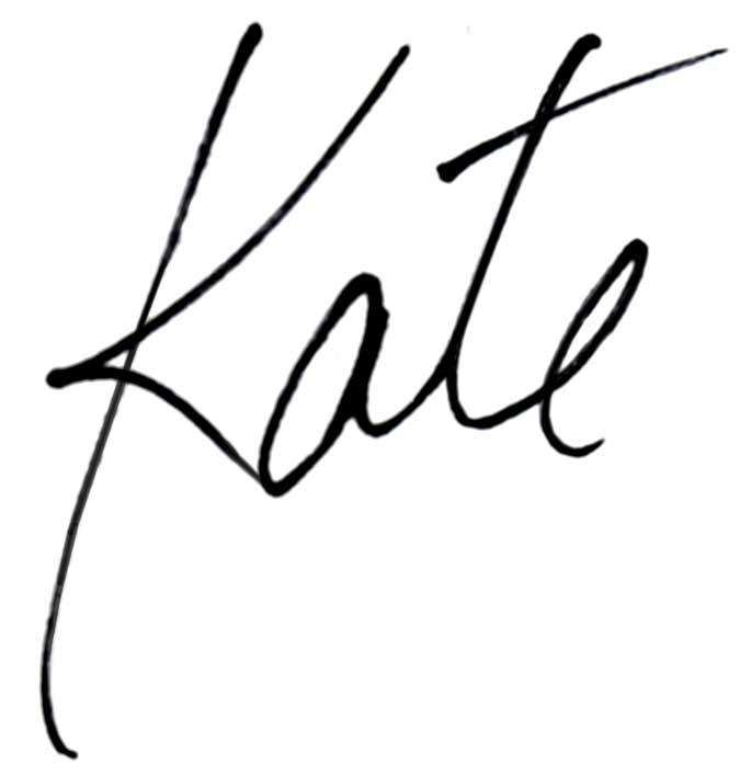 Kate's Signature