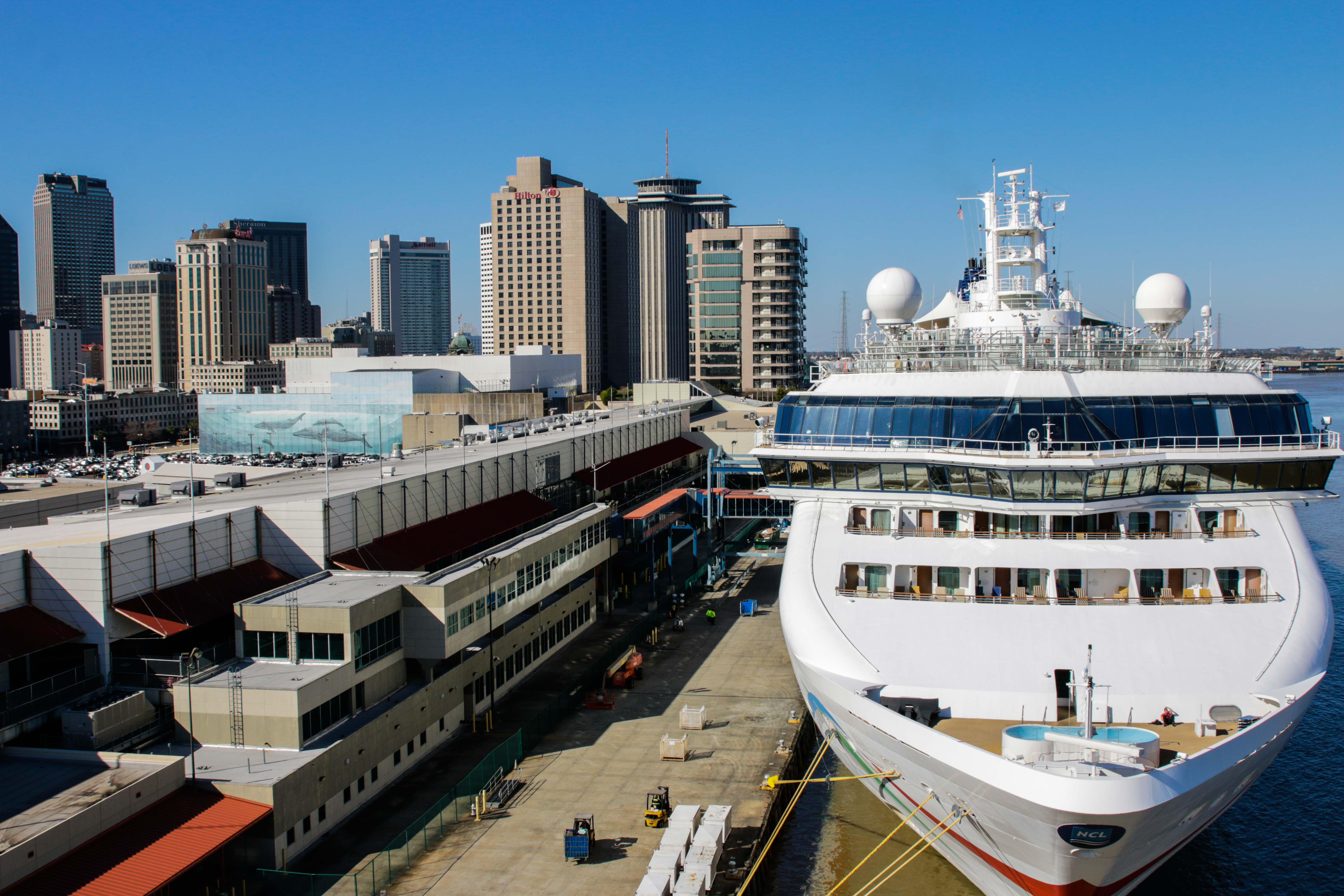 Parking For Your Cruise From New Orleans - New orleans cruise ship terminal