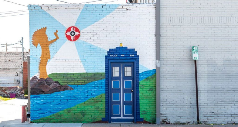 Wichitas Urban Art Mural Scene