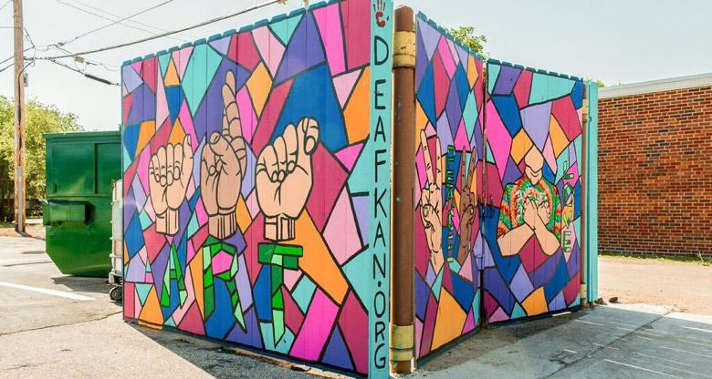 DeafKan Mural
