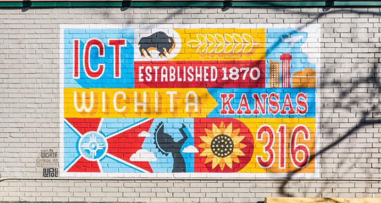 Lupoli Mural - Visit Wichita