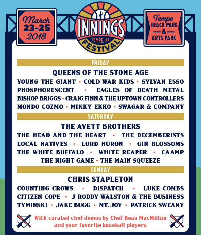 innings festival daily lineup