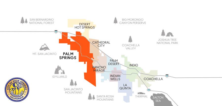 Desert Hot Springs California Map.Explore Palm Springs Ca A Greater Palm Springs Visitor S Guide