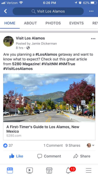 Los Alamos Mobile Post