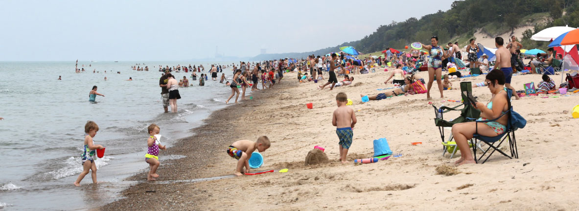 Things to Do in Michigan City, IN | Lake Michigan, Trails