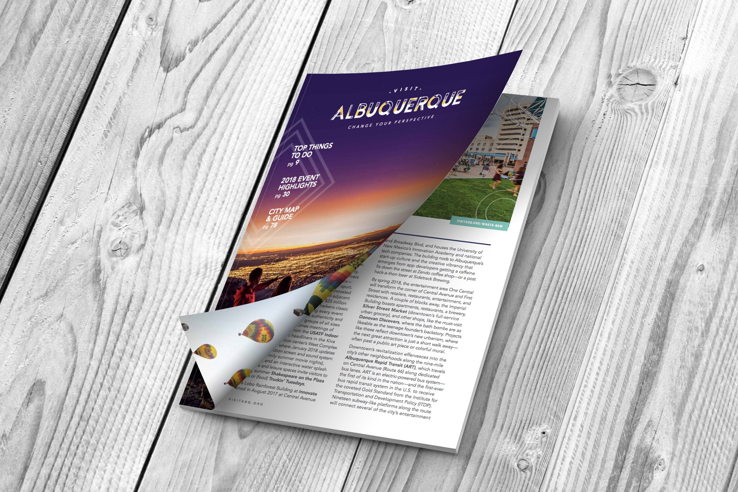 Order Your Copy of the 2018 Albuquerque Visitors Guide