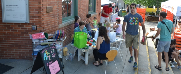 BMOCA Art Stop for Kids