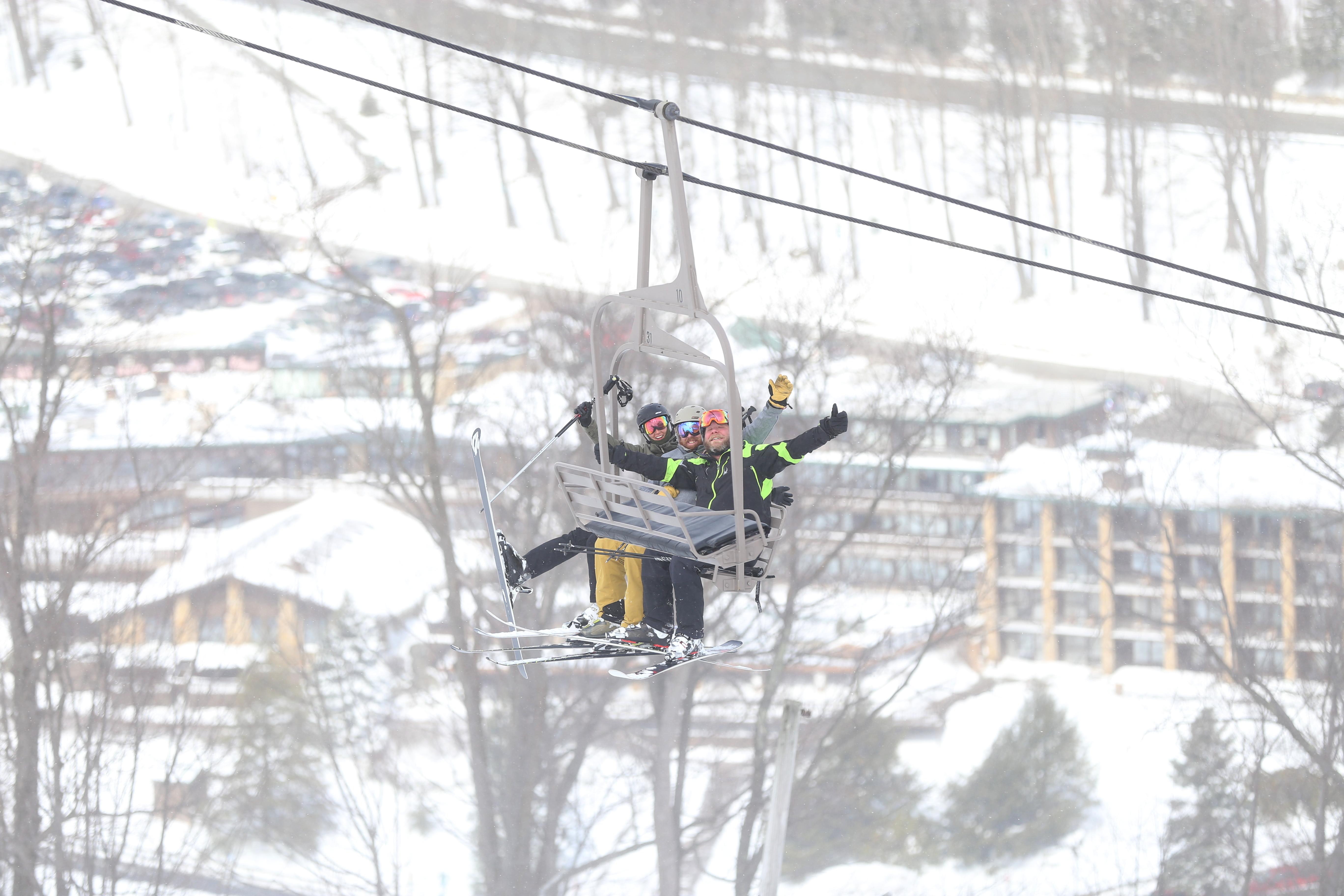 winter ski resorts in laurel highlands | resorts & lodges
