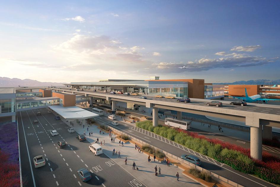 Airport Arrival Rendering