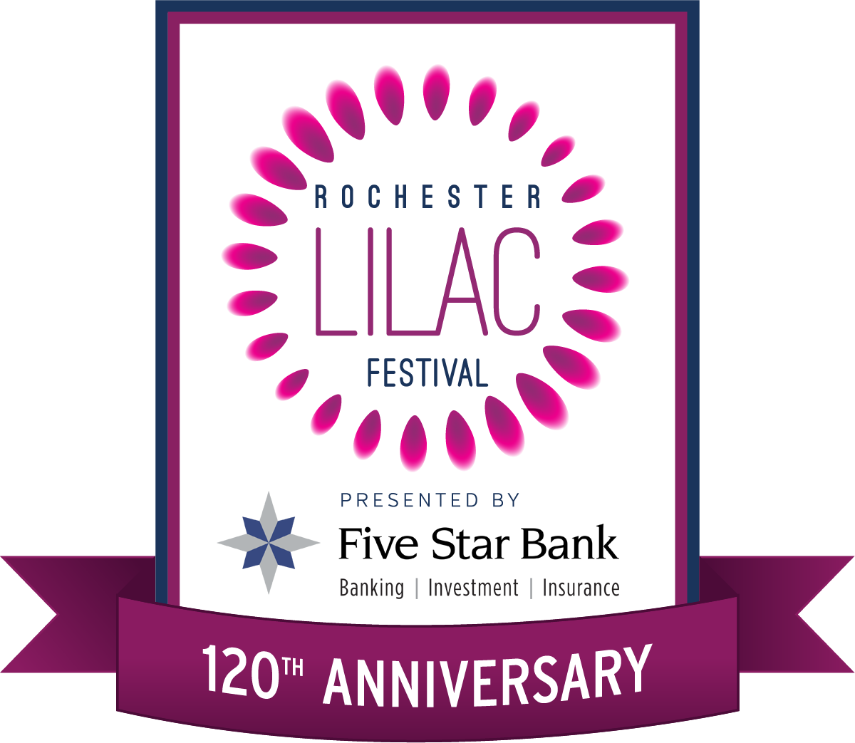 Rochester Lilac Fest 2018 Logo
