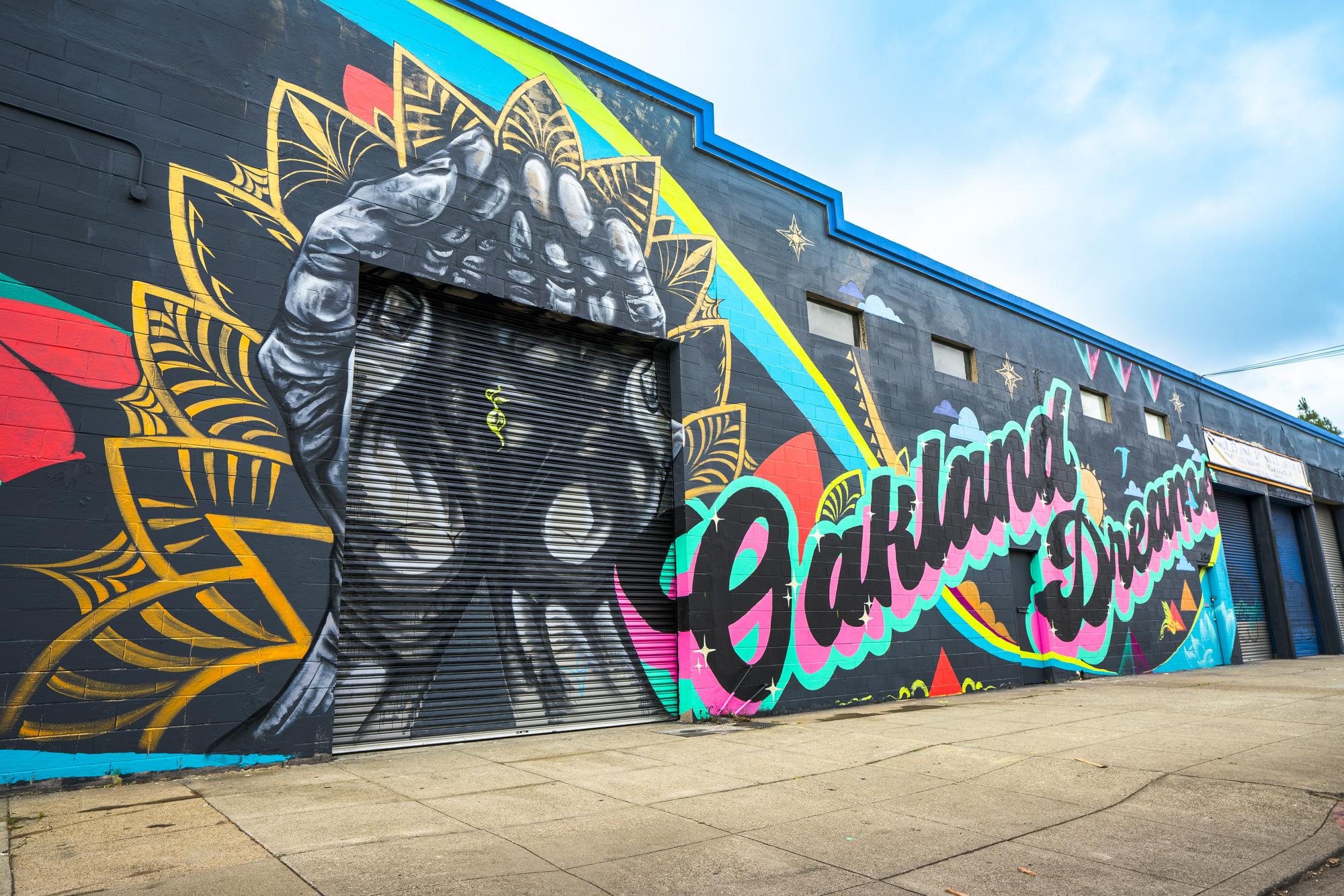 Where to Find Street Art Murals in Oakland, California
