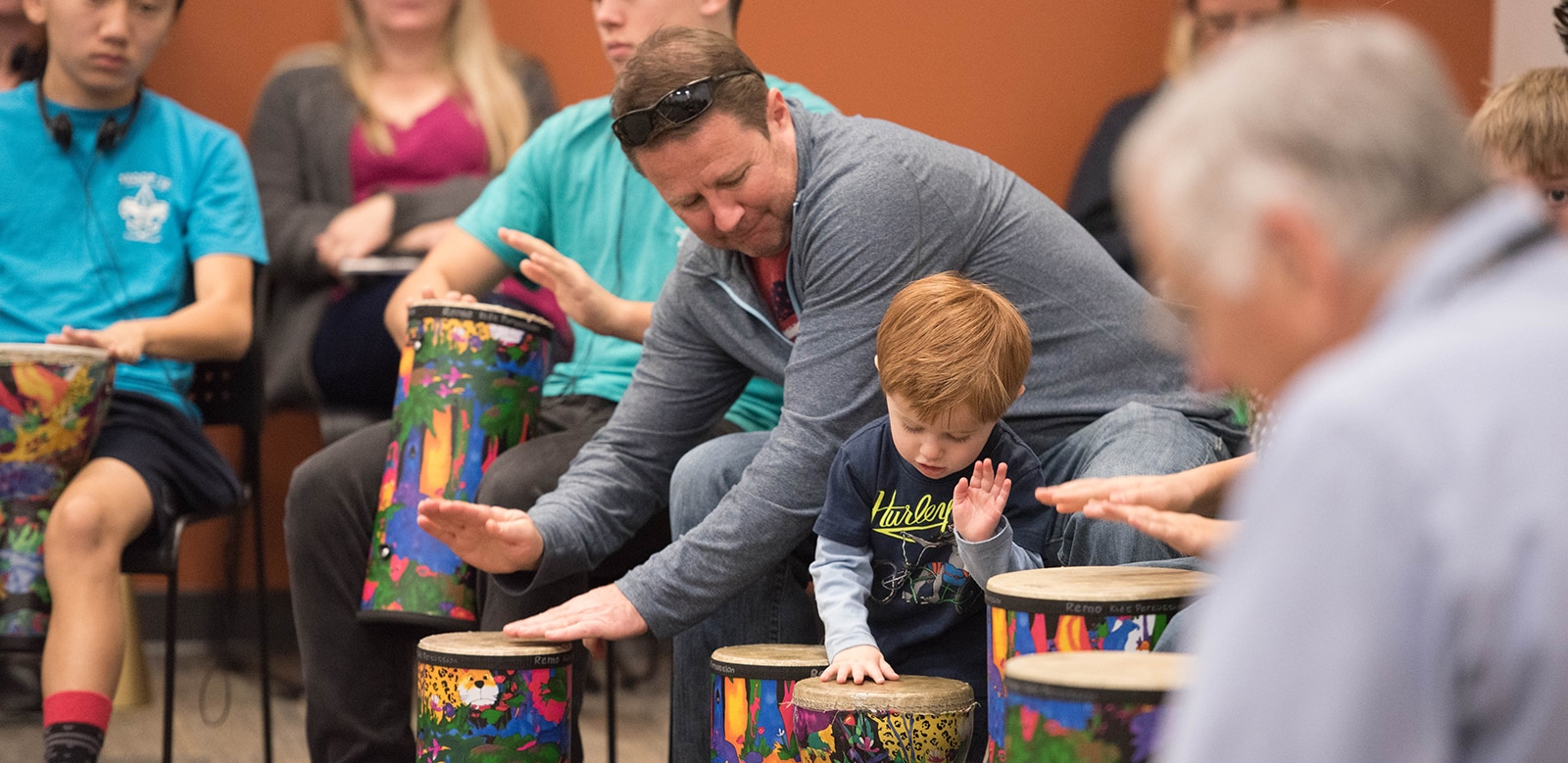 MIM Family Drumming Workshop