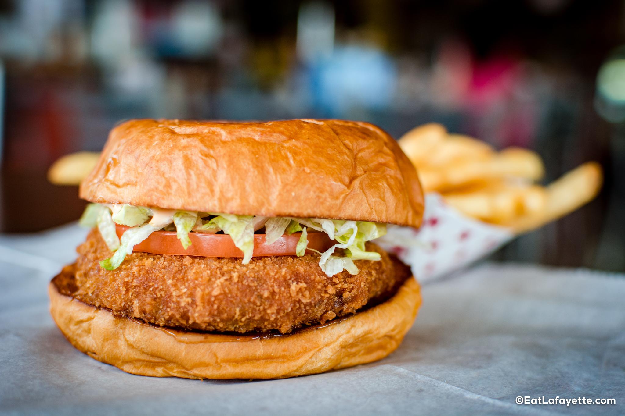 Twin's Seafood Burger