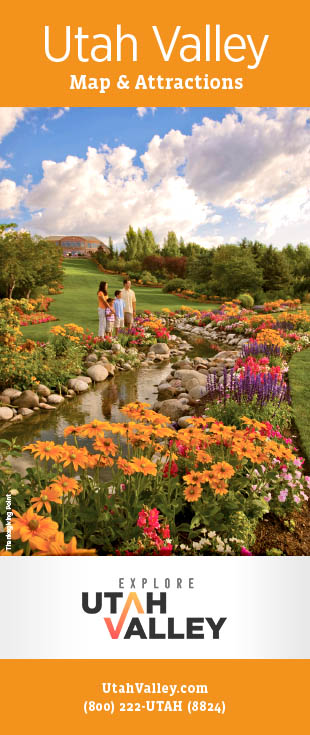 Explore Utah Valley brochure
