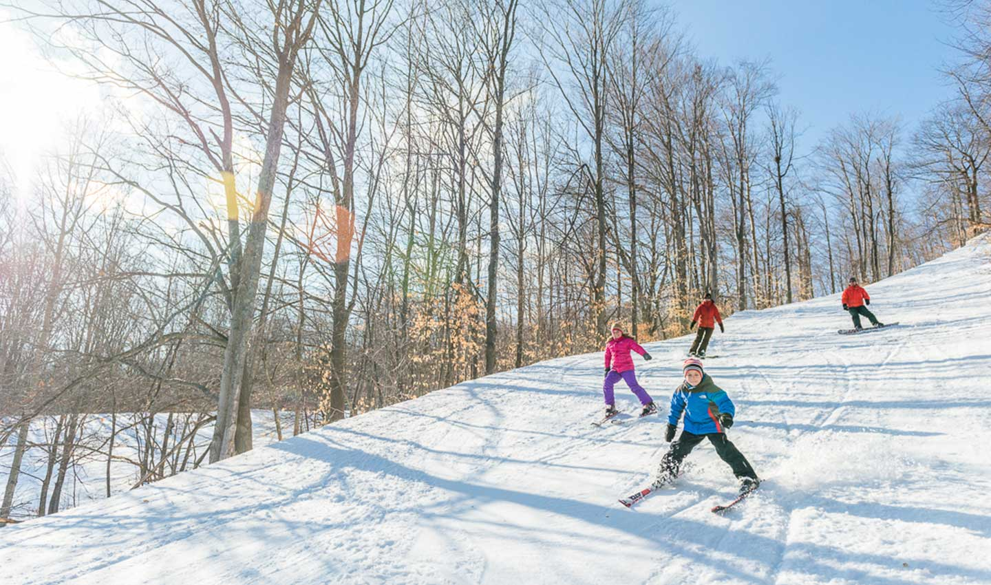 skiing & snowboarding in traverse city, mi