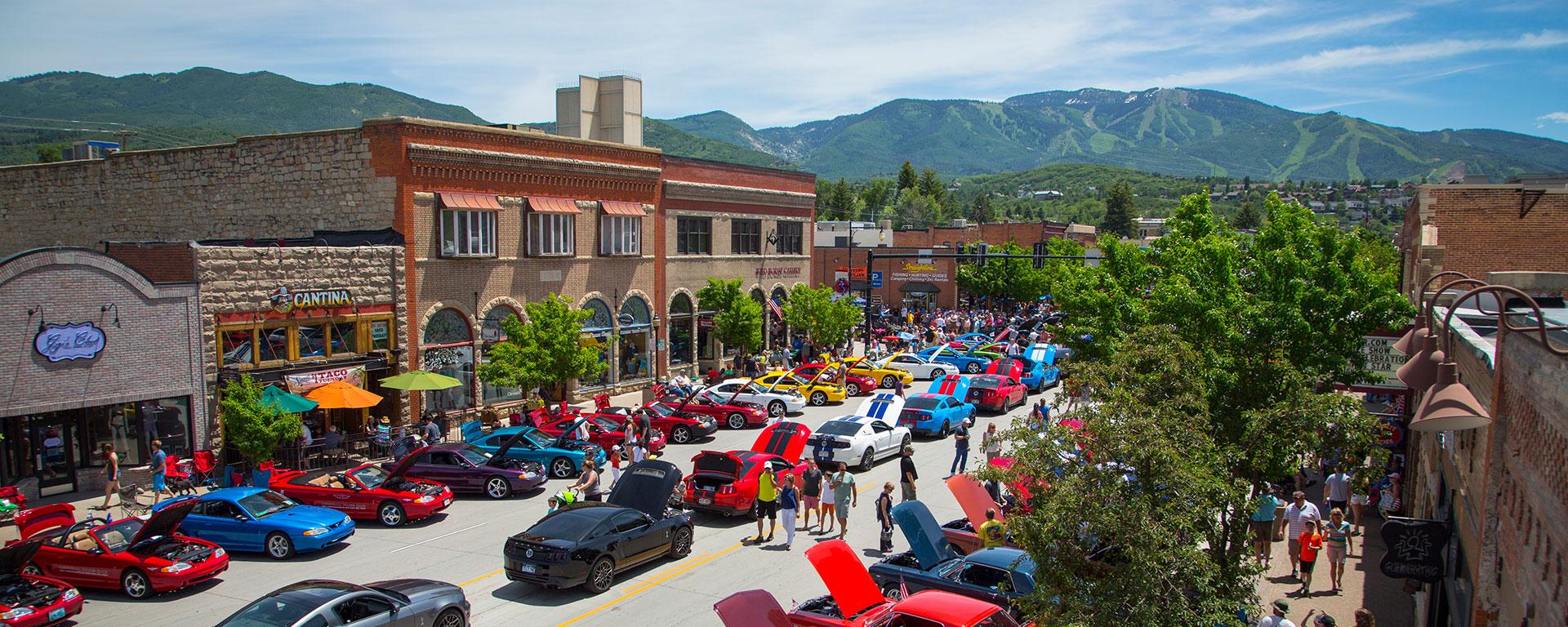 Rocky Mountain Mustang Car Roundup Steamboat Springs Colorado - Colorado car show calendar