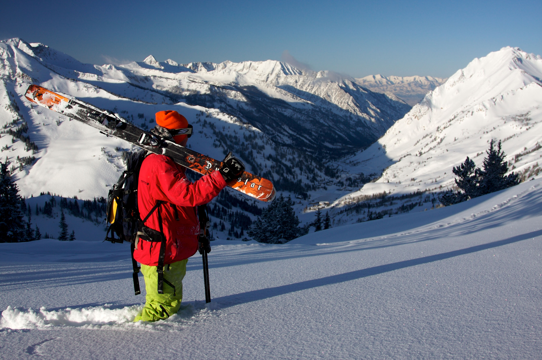 Beautiful view of Alta ski resort