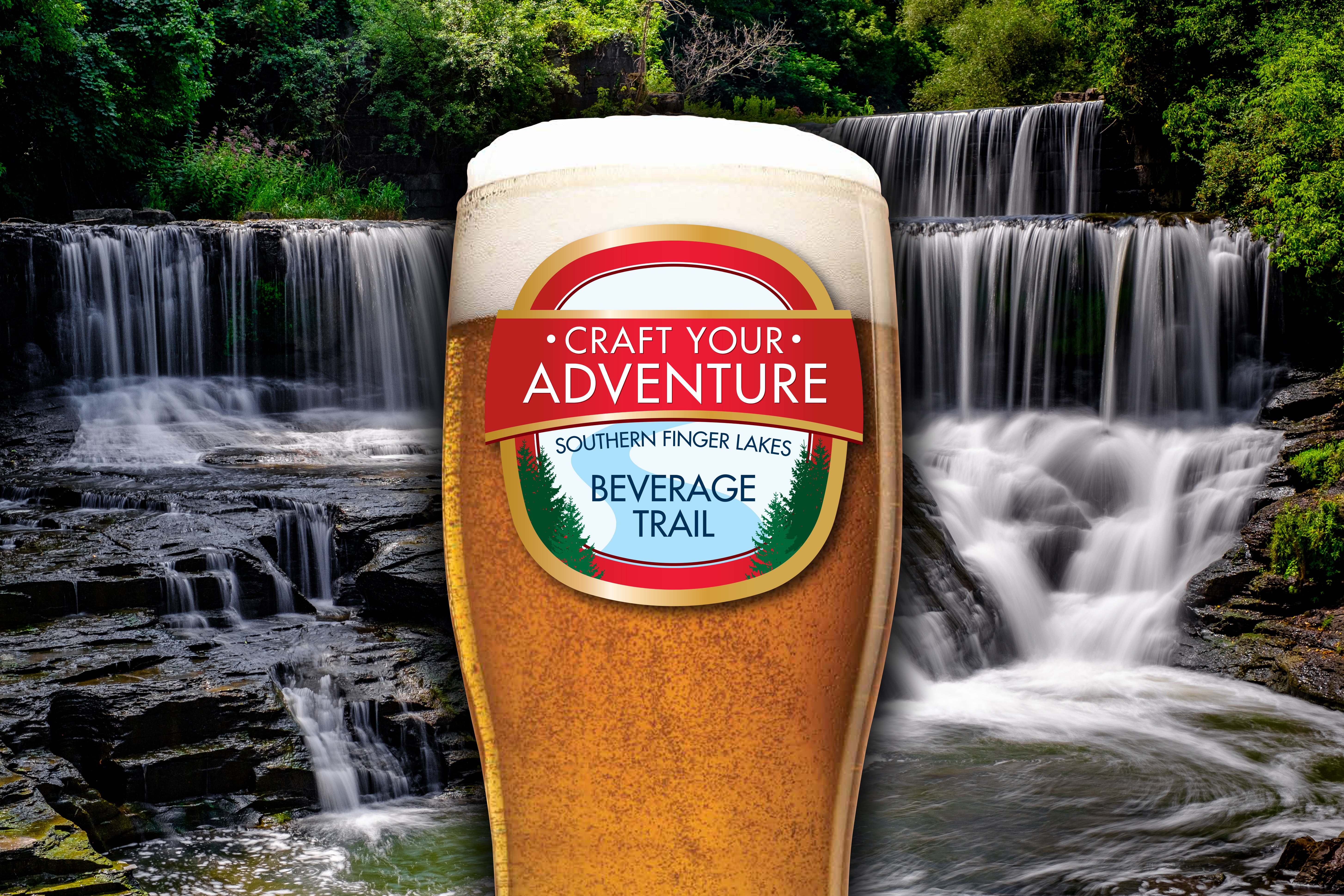 Craft Your Adventure - Southern Finger Lakes Beverage Trail   Finger on