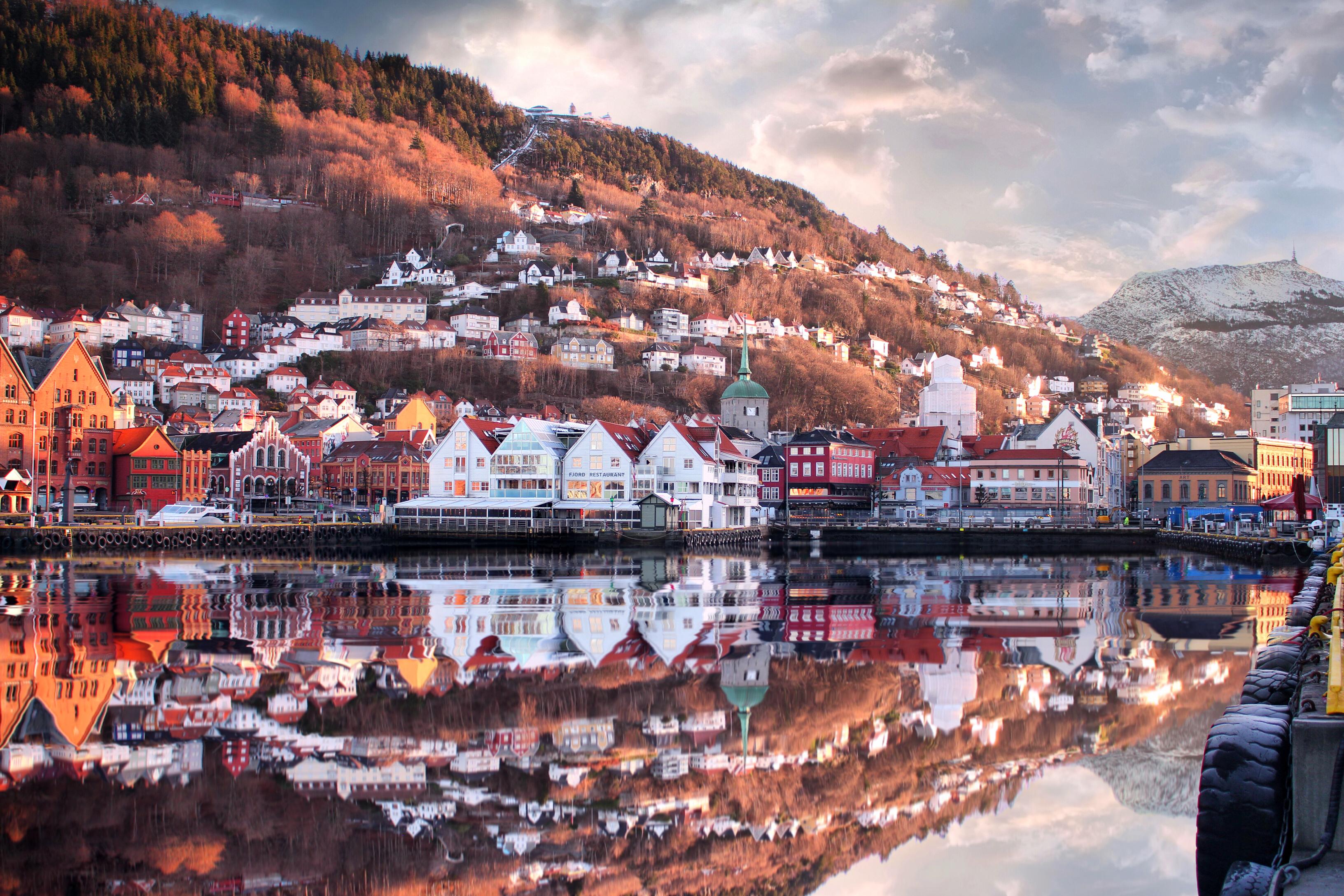 Bergen, Norway   The capital of Fjord Norway