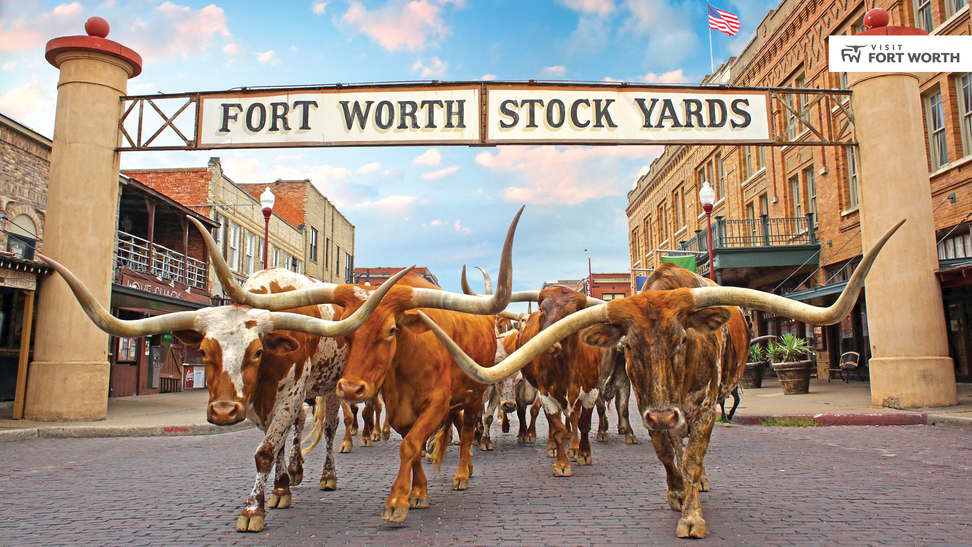 Stockyards National Historic District in Fort Worth | The Herd