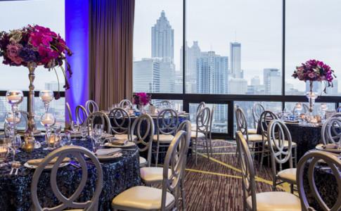 Crowne Plaza Atlanta Midtown - SKY Room - Elegant Dinner