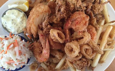 Fried Fisherman's Platter