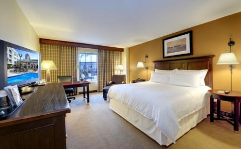 Hotel near Perimeter Mall Standard King Size Bed