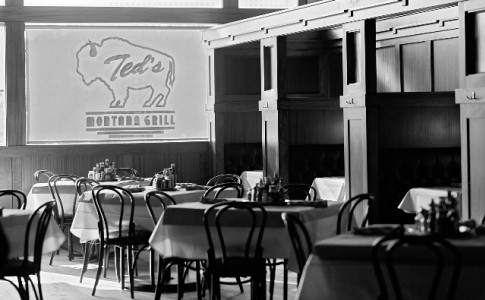 Ted's Montana Grill Interior of Restaurant