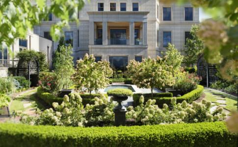 Mandarin Oriental garden exterior
