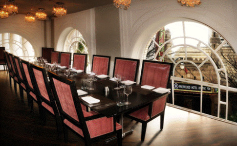 Private Dining Room Overlooking The Fox Theatre