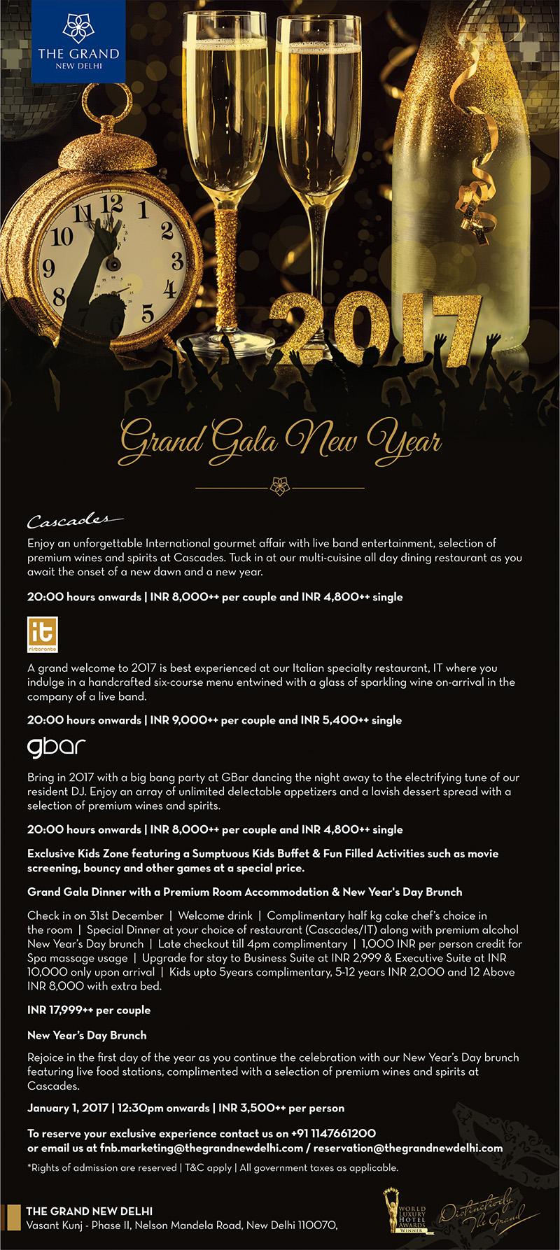 grand gala new year