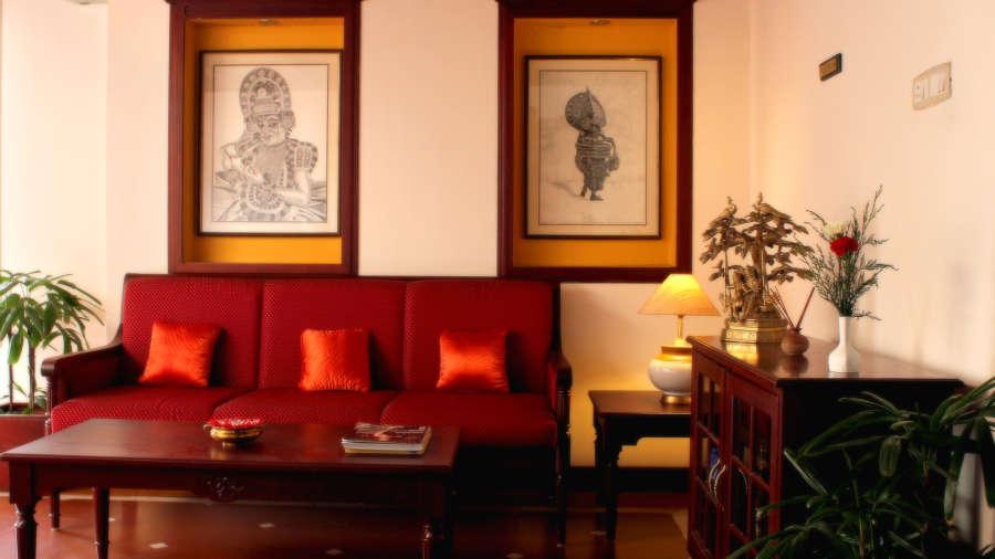 Hotel Arches, Fort Kochi Kochi lounge 2 Hotel Arches Fort Kochi